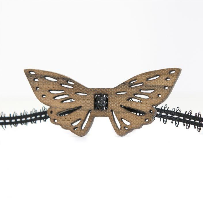 Papillon Butterfly in rovere massiccio Ep9