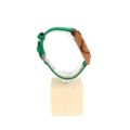 Orologio Ecos Jewel in legno di Zebrano e cinturino in ecopelle EWR9